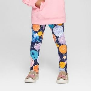 Cat & Jack Space Planets Leggings